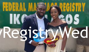 Pretty Aramide & Handsome Olumide Legalize Their Union