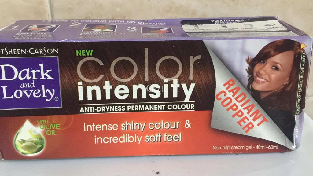 Dark and Lovely New colour intensity
