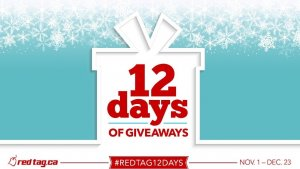 Redtag 12 days giveaway In December