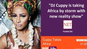DJ Cuppy Takes Africa