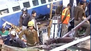 Patna-indore Express involved in an accident
