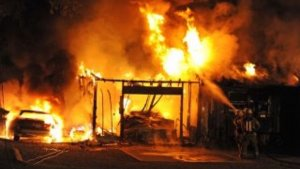 Yabatech female hostel on fire