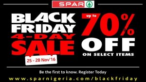 Spar Black Friday