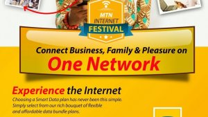 Experience internet speed with Mtn