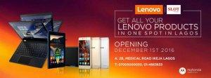 Slot opens a Lenovo Brand shop