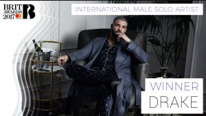 Drake Wins Best International Male Solo artist Of The Year