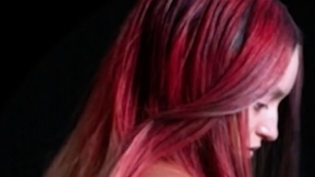 Colour changing Hair Dye from The Unseen