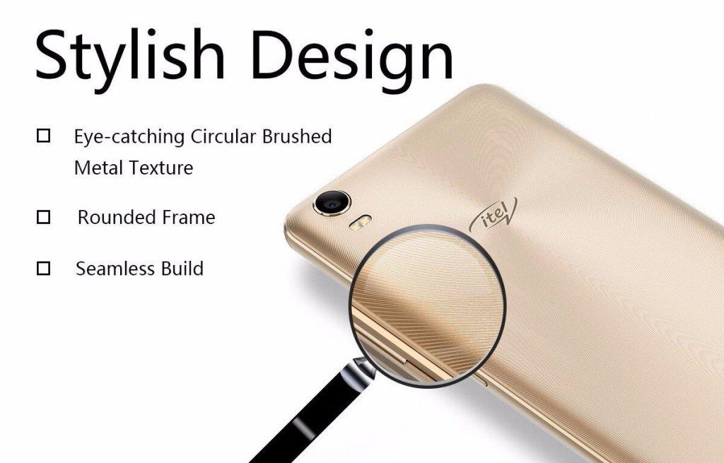iTel S31 has stylish Design