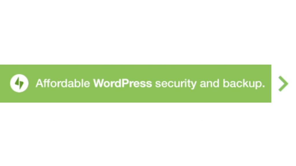 WordPress Jetpack to provide security and backup