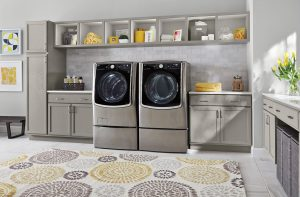 LG frontload washer at Bestbuy