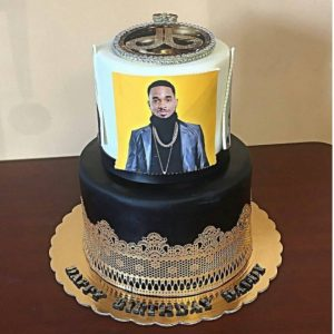 Birthday cake for Dbanj