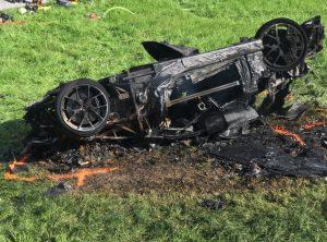 Richard Hammond car crash in Switzerland