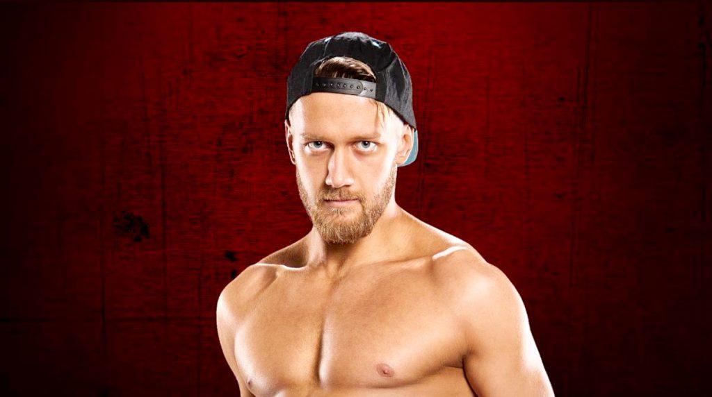 WWE UK star Mark Andrew