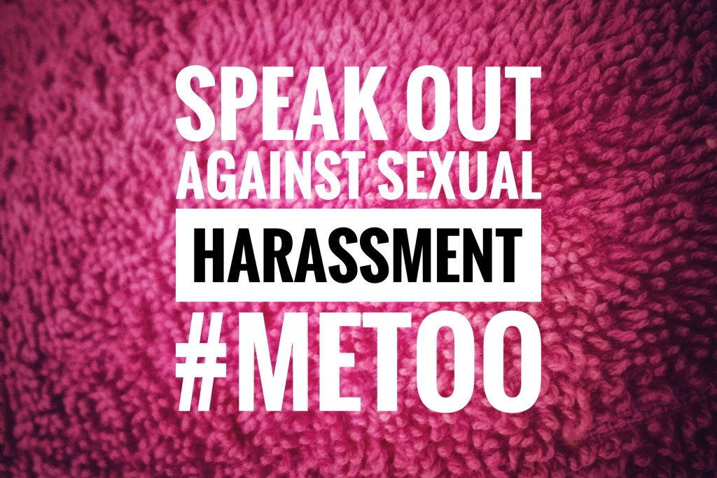 Speak out against sexual harassment
