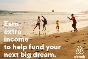 Earn extra income with Airbnb