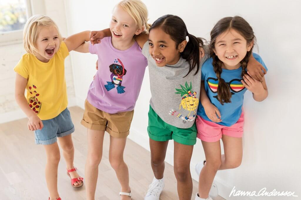 Hanna Andersson shorts for kids