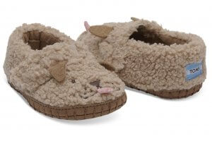 TOMS soft crib shoes