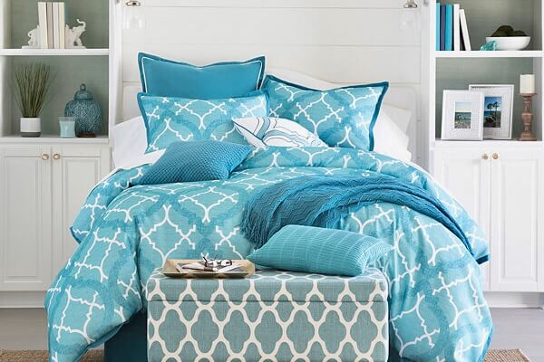 Aqua Home Comforter set