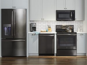 GE Black Stainless Kitchen Appliances
