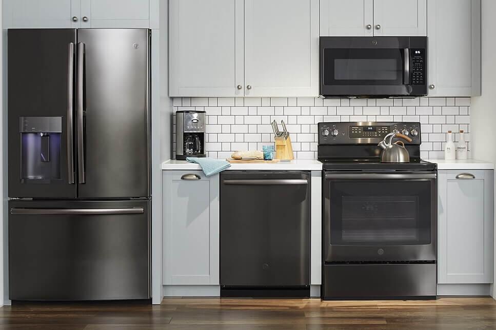 GE premium Finish Appliances