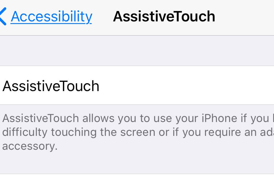 How to use Assistive Touch On iPhone