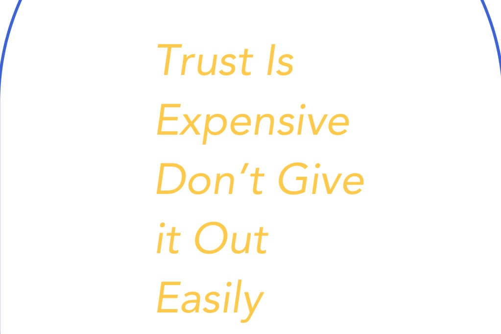 How to know someone is trustworthy