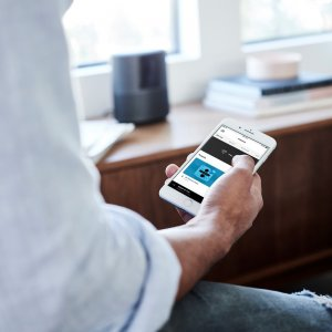 How to use music app with Bose Smart Home Speaker