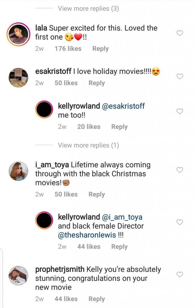Kelly Rowland new movie